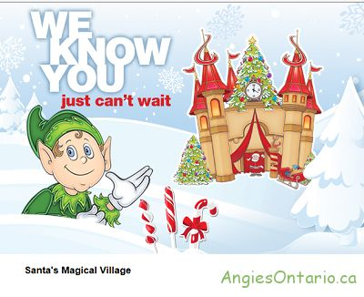 Santa at The  Devonshire Mall  http://angiesontario.ca/devonshire-mall-windsor/
