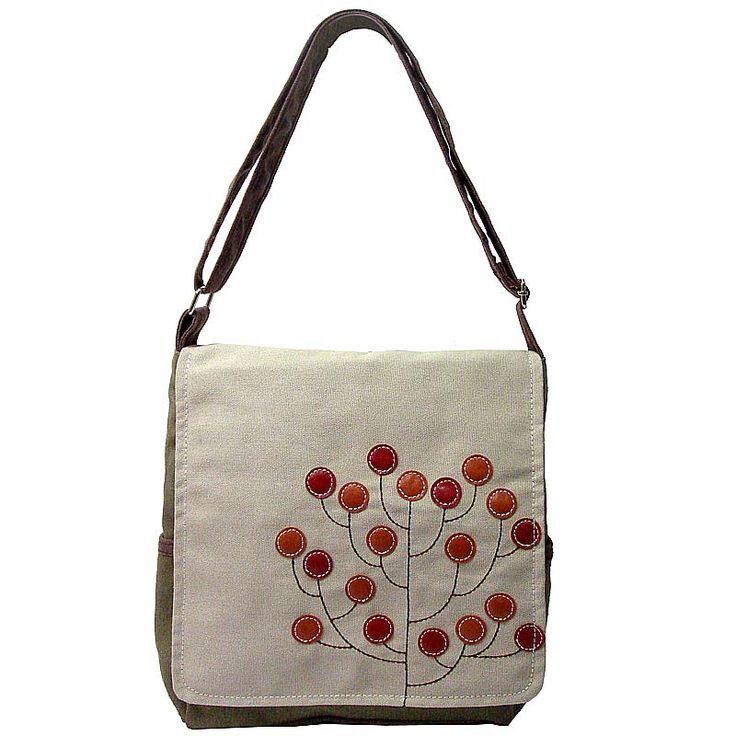Funky Tree Canvas Bag