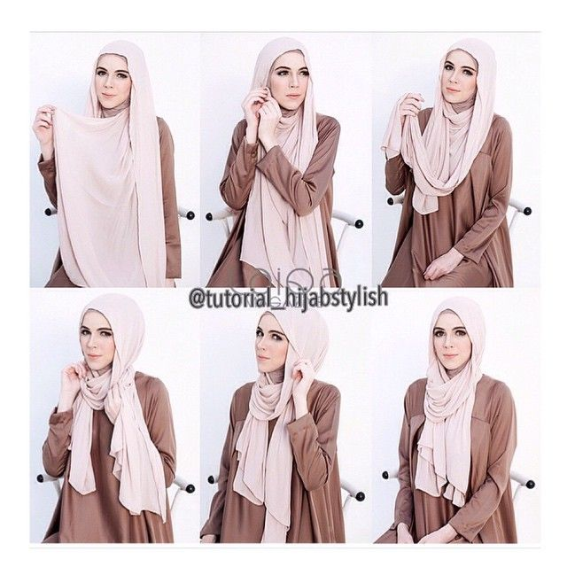 Summer Easy Hijab Wrap Tutorial