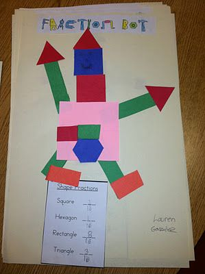 Fraction Bot - teaching fractions of a set