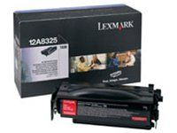Lexmark Toner Black Pages: 12.000, 12A8325 (Pages: 12.000 Standard capacity). 12A8325.