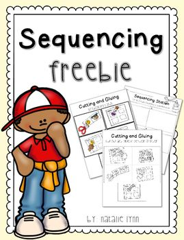 "Being able to sequence events is an important skill and your students will have fun practicing with this literacy center. Includes ""I Can"" page, color picture cards to put in order, then a black and white version to cut and glue in order on the recording sheet.This freebie is a sample of Sequencing Station which includes 4, 5, and 6-step sequences!"