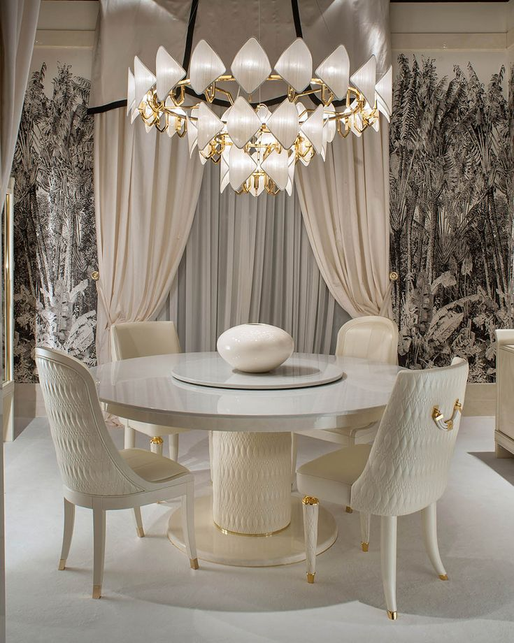 Numero Tre Collection www.turri.it Italian luxury design dining room furniture