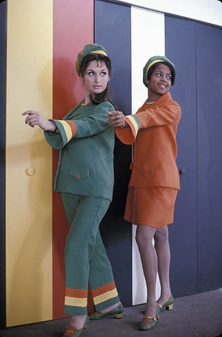 Hostesses of the Jamaican Pavilion at Expo 67.