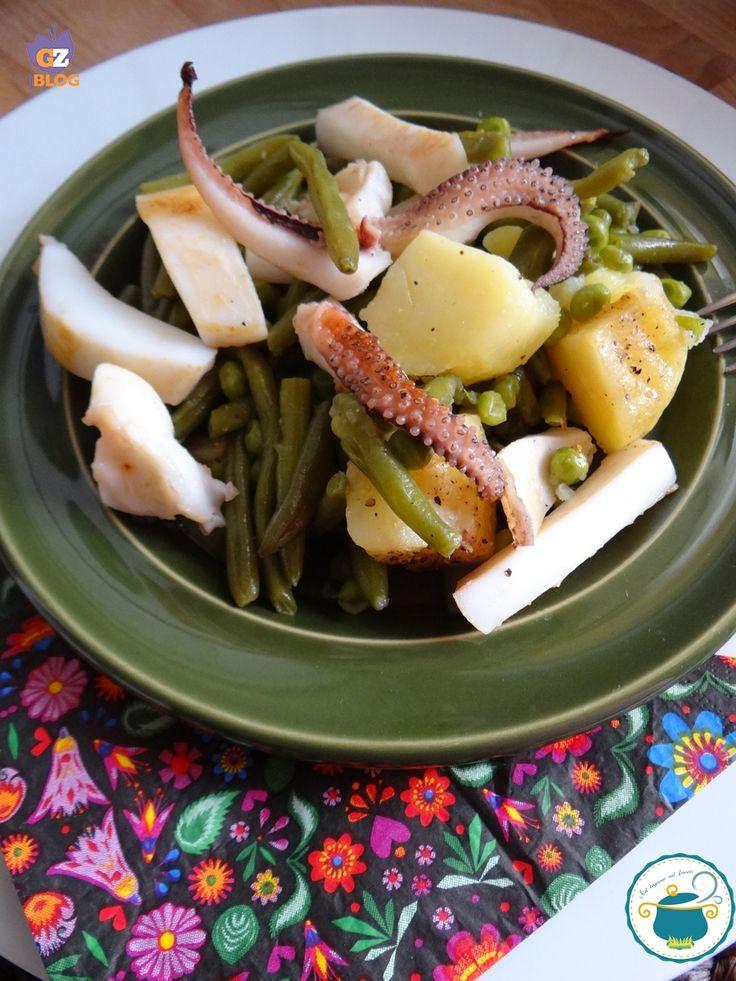 insalata di seppie grigliate