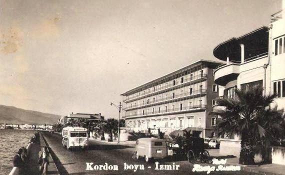 kordon alsancak İZMİR 1950 LER
