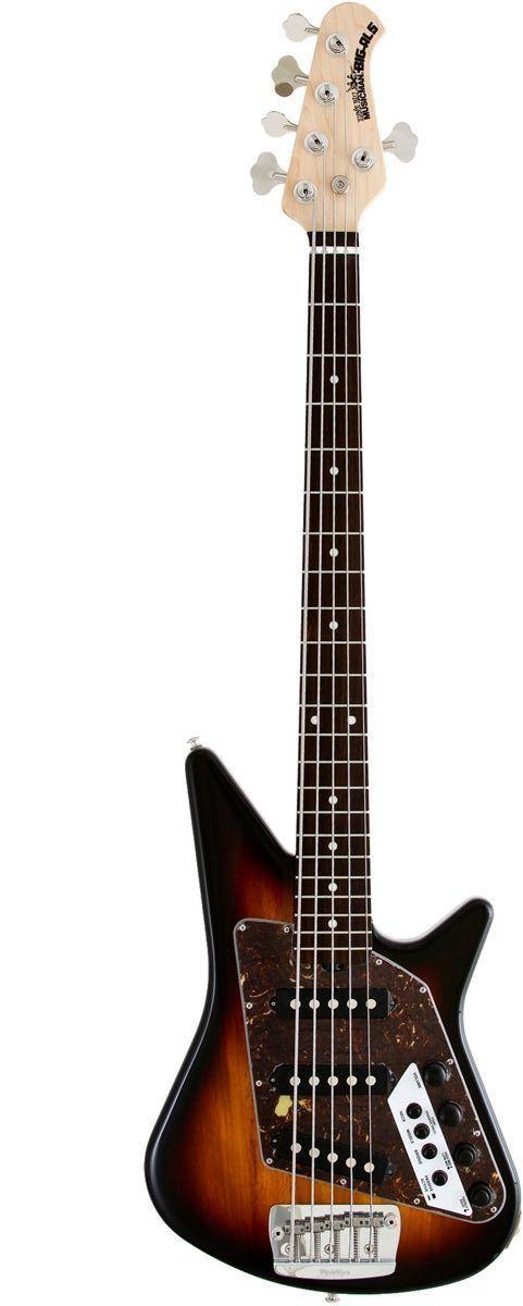 Big Al 5 SSS | 5-String Bass Guitar - more on www.guitaristica.org #bassguitar #guitars #guitaristica
