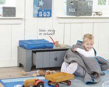 Een mooie speelgoedkist voor het speelgoed van mijn 3 kanjers! #leenbakker