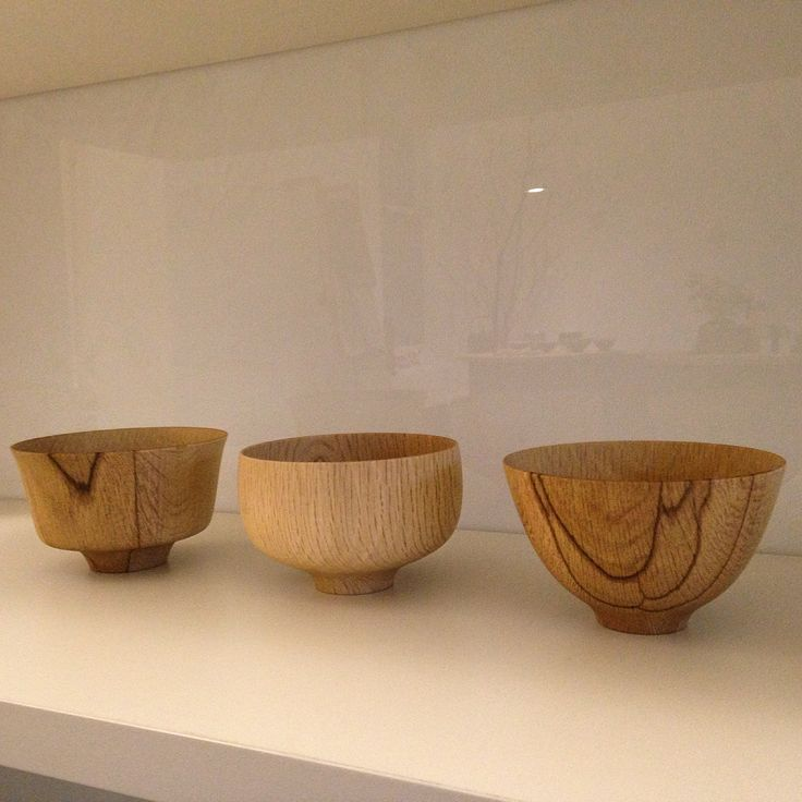 'Kashiwan' Oak bowls by Kihachi