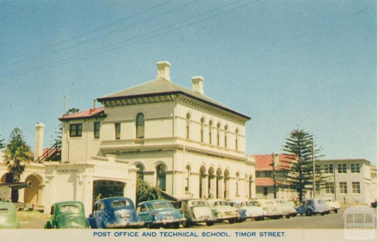 Post Office and Technical School, Timor Street, Warrnambool, 1960