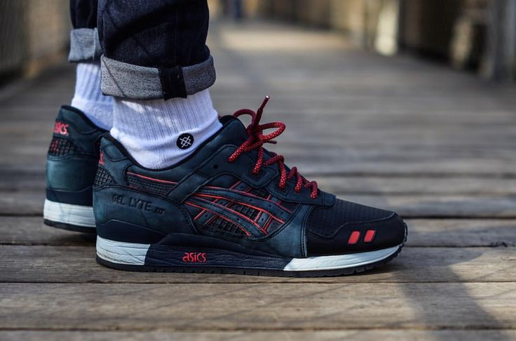 "Ronnie Feig x Asics Gel Lyte III ""Total Ecilpse"""