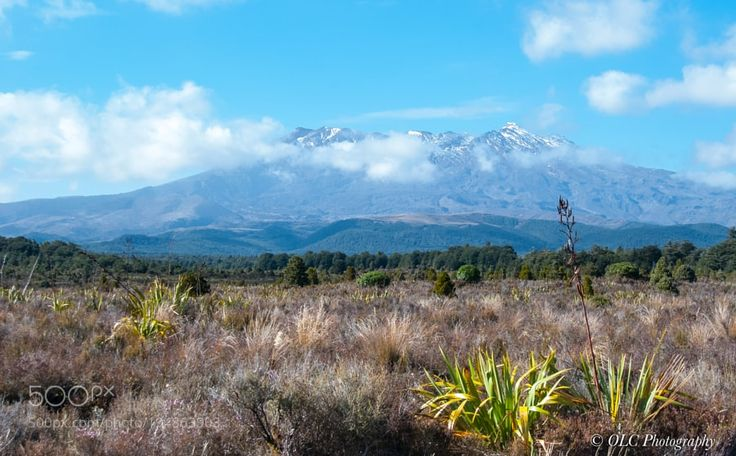 Popular on 500px : Mount Ruapehu New Zealand by olafchristen1