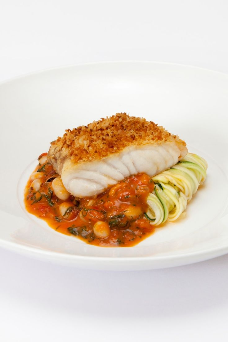 Matthew Tomkinson's colourful hake recipe is packed with the flavours of Provence and is relatively simple to put together