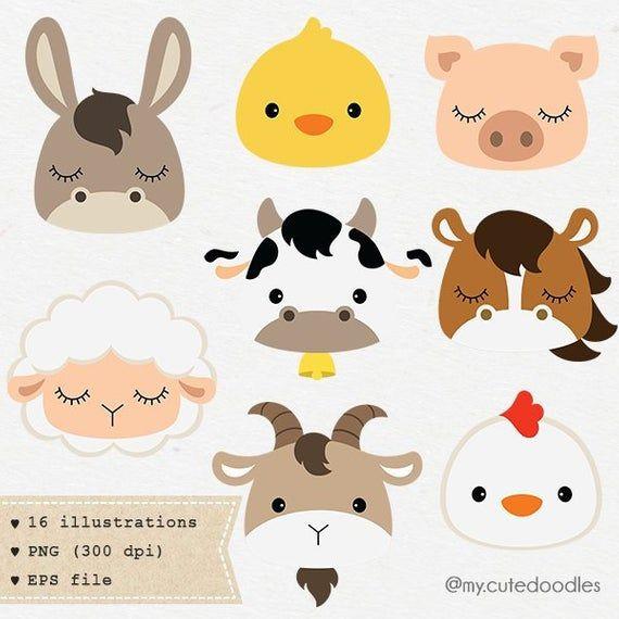 Codice Prodotto C029 Farm Animal Nursery Farm Animal Nursery Art Nursery Art Decor