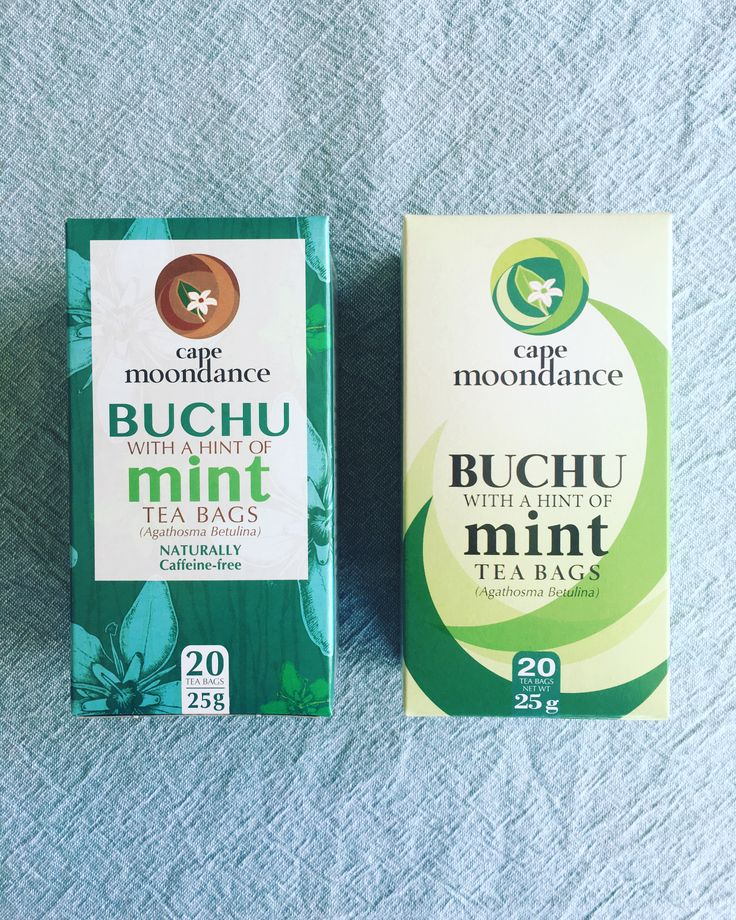 Cape Moondance Buchu Tea with a hint of Mint