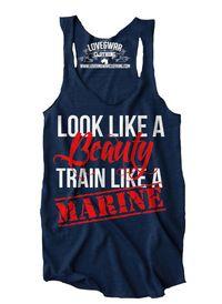 Look like a beauty, train like a MARINE Top