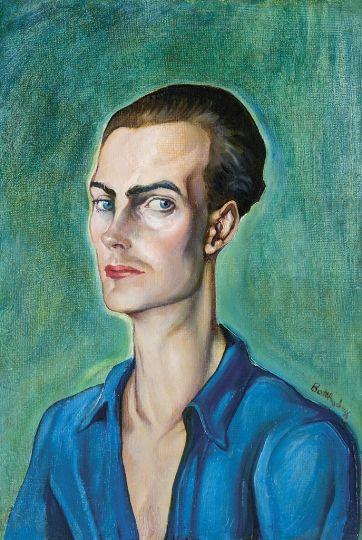 Batthyány Gyula - Fiatal férfi portréja