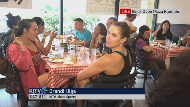 First of four watch parties hosted by KITV and NBC Sports Radio. It's at these parties that you can enter to win our Grand Prize: a trip for two to watch the Giants play the Dodgers in September.