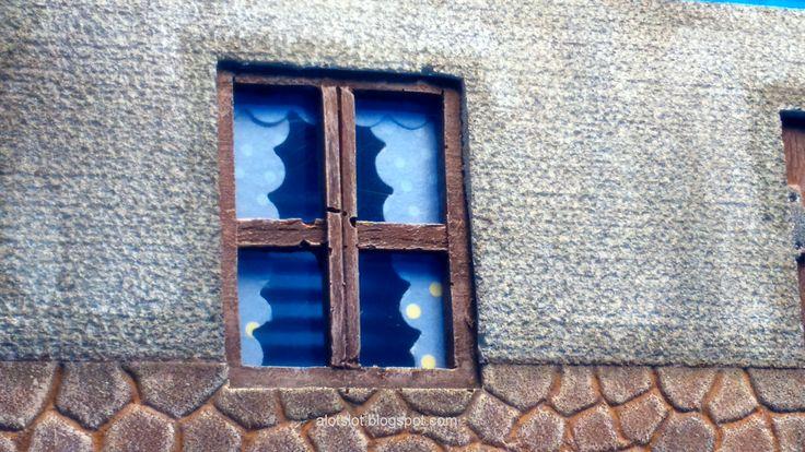 Diorama Town Street _Diorama Calle de Pueblo  #slot #slotcar #diorama #scalextric #ninco #carrera #scx  #diorama #street #cobblestone #alotslot #calle #callejon #adoquines #miniature #maqueta #hobby #modelism #casa #old #retro #f1 #msc #pueblo #wrc #wec #endurance #car #france #rue #calle #town