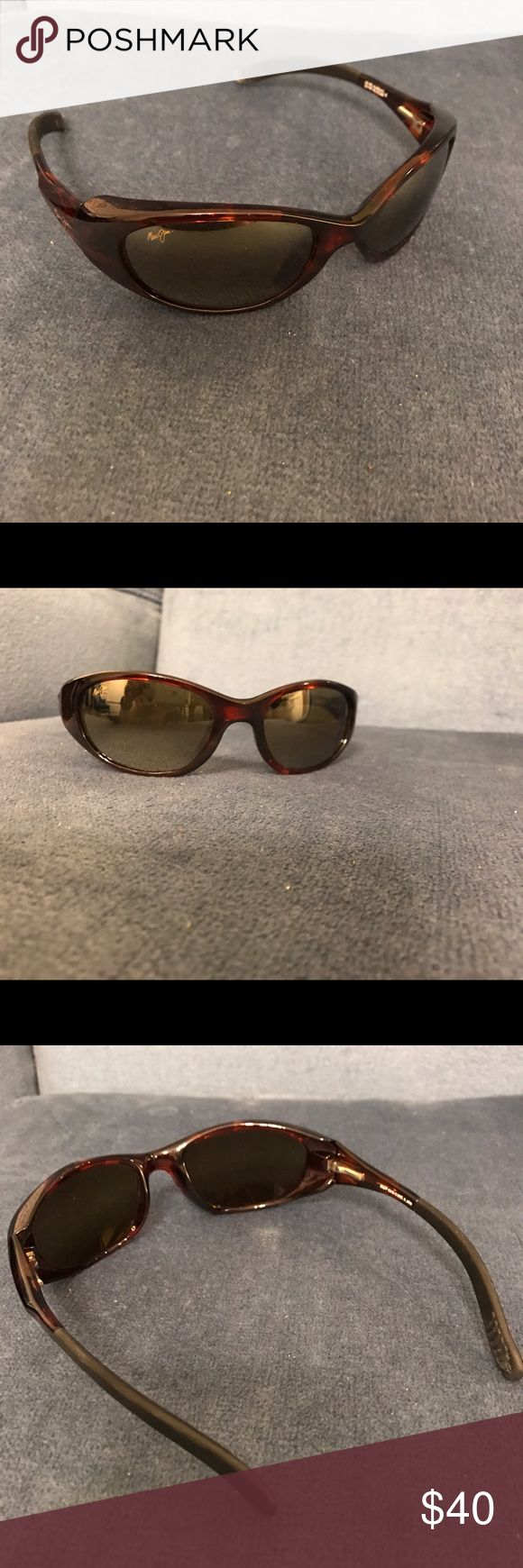 Maui Jim Sunglasses Cute and casual sunglasses! Worn a few times and in great condition. Maui Jim Accessories Sunglasses