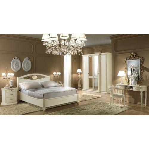 Romantic Venezia #Ivory #Bedroom #furniture