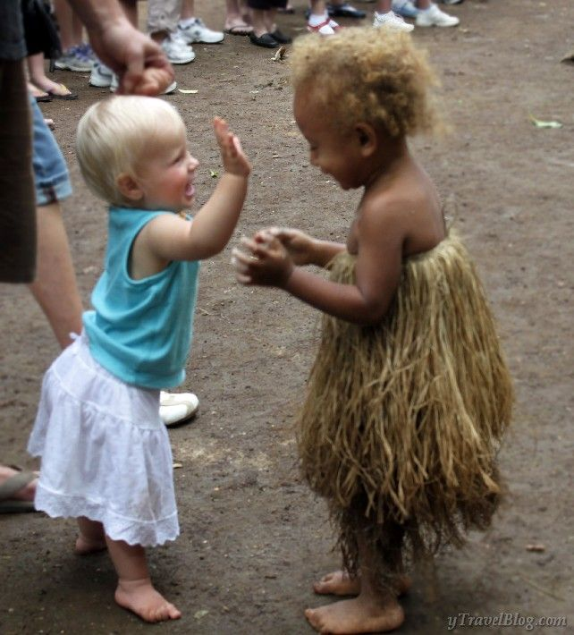 When Savannah met Alida at a cultural village in Vanuatu I cried: http://www.ytravelblog.com/vanuatu-village-savannah-alida/