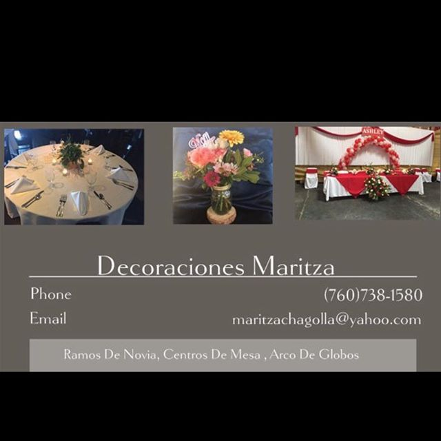 We have our new business cards ❤️🌹🍂🌻🌺 #followforfollow  #follow #decoraciones #decoracionesmaritza #flores #arcodeglobos #escondido #vista #sandiego #sanmarcos #oceanside #ramona #valleycenter #sandiego #sandiegoconnection #sdlocals #sandiegolocals - posted by Maritza's Decorations https://www.instagram.com/decoraciones_maritza. See more post on San Diego at http://sdconnection.com
