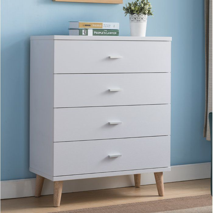 Wallingford 4 Drawer Chest Small Room Decor Drawers Kids Dressers