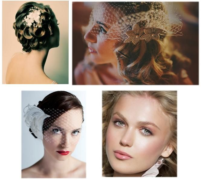{Vintage Bride} 1920s Bridal Look – The Glamour of Old to Life GET THAT 1920′S VINTAGE BRIDAL LOOK! Today's post is for our vintage brides as we look at how to put together ultimate 1920′s bridal look! To talk about the 1920s, you need to visualize Great Gatsby: glamour, parties, colours, cinemas, jazz music, night life etc. There is no doubt that its mythical feel still lingers today. So what better era to pick for a glittering and glamorous occasion such as your wedding? #vintage #bride…