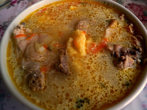 Moldavian soup (ciorba moldoveneasca)