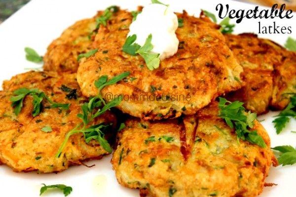 {Hanukkah Recipe} Vegetable Latkes #Video
