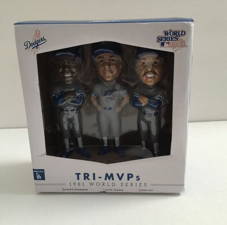 2016 collection LA Dogers World Series 1981 Dogers TRI-MVPs Guerrero Yeager Cey #LosAngelesDodgers
