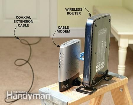 How to Make Wi-Fi Faster in Your Home: Relocating the router can sometimes make wi-fi faster. Learn how: http://www.familyhandyman.com/smart-homeowner/how-to-make-wi-fi-faster-in-your-home/view-all