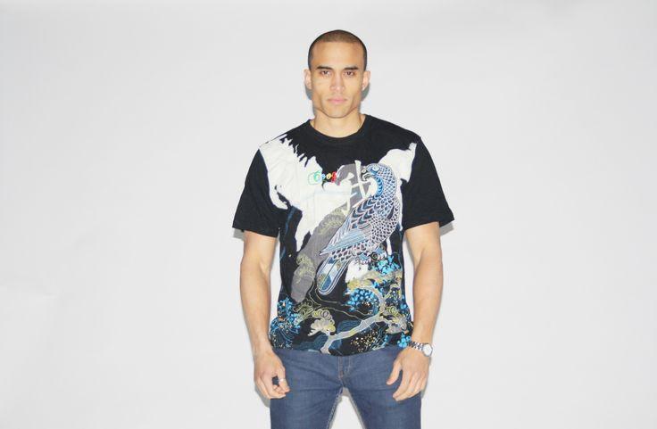 Authentic Coogi Graphic Peacock Hip Hop T Shirt – Vanguard Vintage Clothing