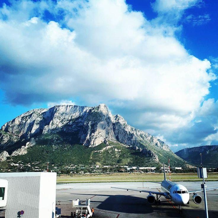Ciao Sicily.  It's been fun! #sicily #palermo #palermoairport #leavingonajetplane