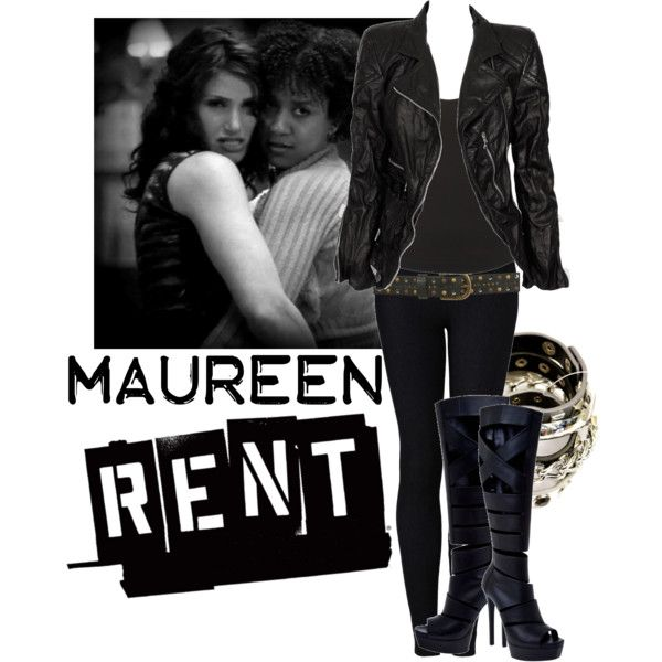 """Maureen - RENT"" by nicolejeanine on Polyvore"