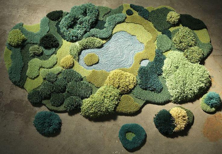 Kunstværker i uld | Håndlavede tæpper | Boligmagasinet.dk