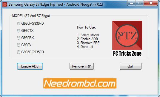 Samsung Galaxy S7/S7 Edge FRP Tool [7 0 1 | Smartphone Firmware