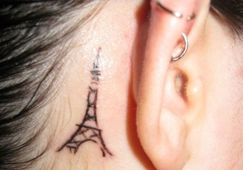 My 10th tattoo behind my right ear...ironically is 10th on the list from the link