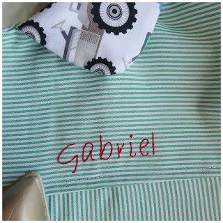 How to #embroider a name Aprende a #bordar a mano un nombre