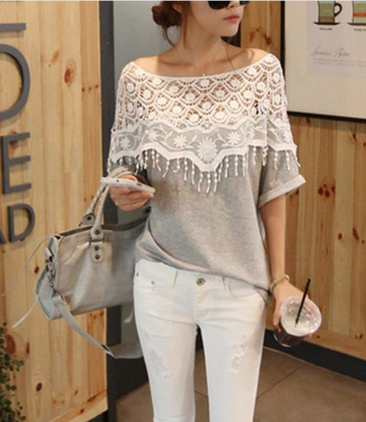 Good Quality Lace t-shirt. Perfect for this summers.