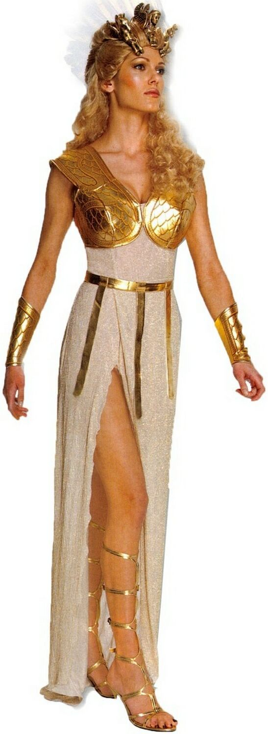 Adult Clash Of The Titans Athena Costume