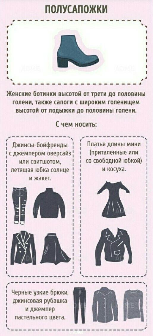 Полная энциклопедия обуви. Полусапожки.