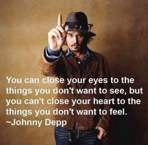 Oh Johnny. :] words of wisdom that are so true