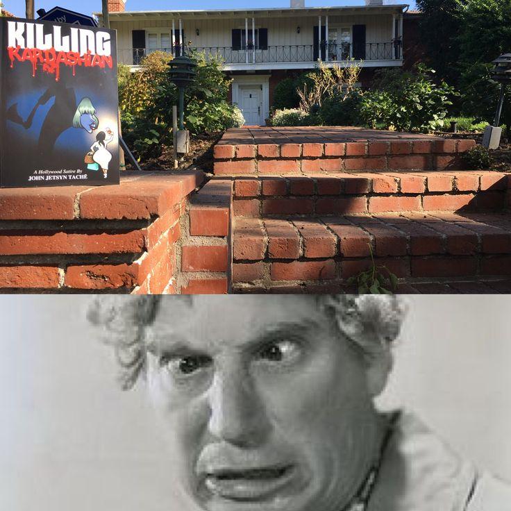 KILLING KARDASHIAN - A Hollywood Satire at HARPO MARX home. Beverly Hills. Book available at Amazon, Mac Books, Smashwords and at killingkardashian.com