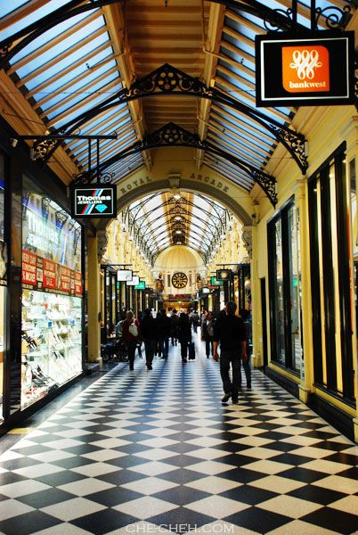 Royal Arcade @ Bourke Street Mall, Melbourne