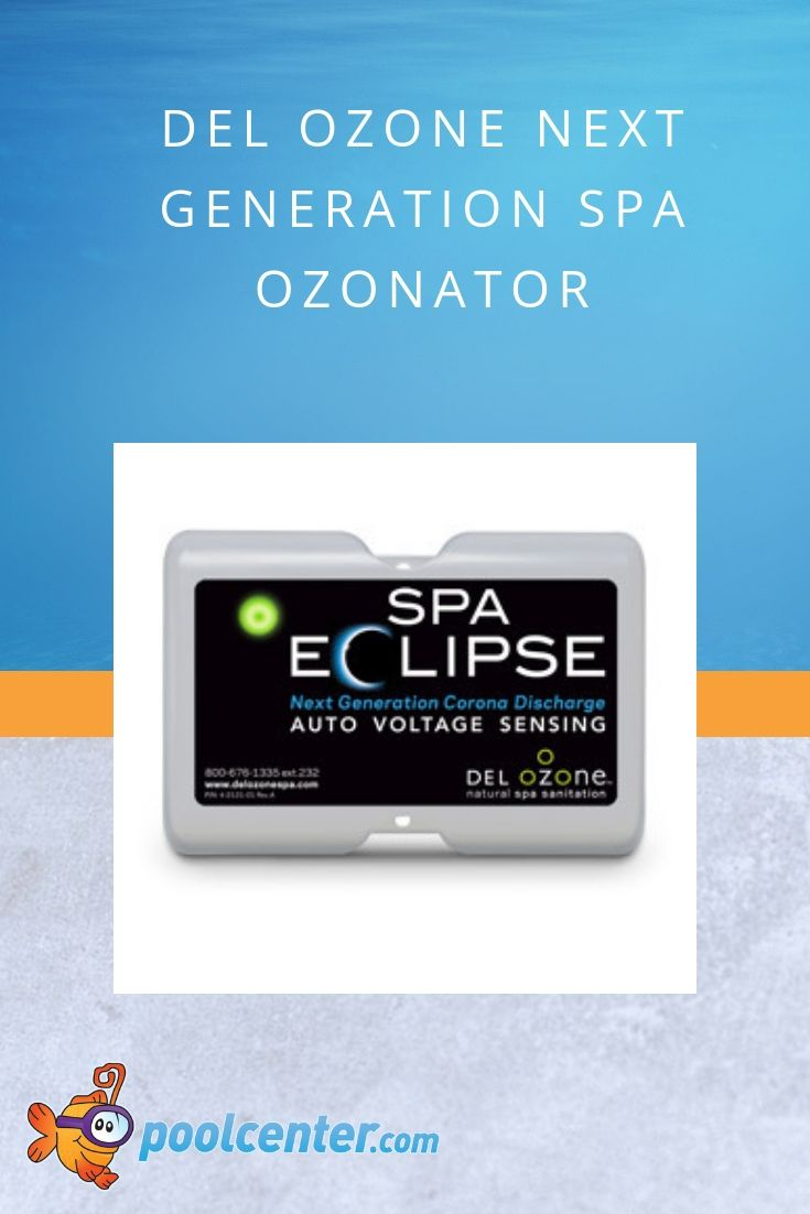 Not only does this Ozone generator sanitize your spa