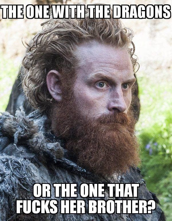 Tormund  Game of Thrones.