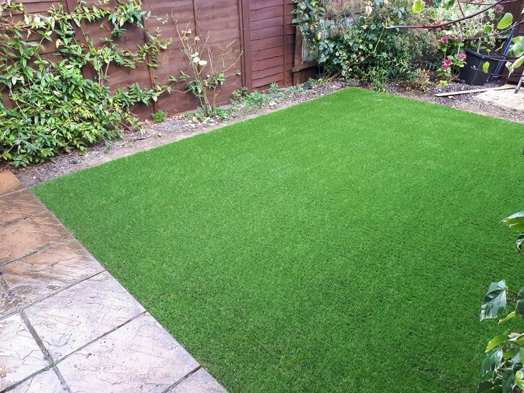 having a small garden does not mean it cant look great all year round, why not try adding some artificial grass to make it pop :)