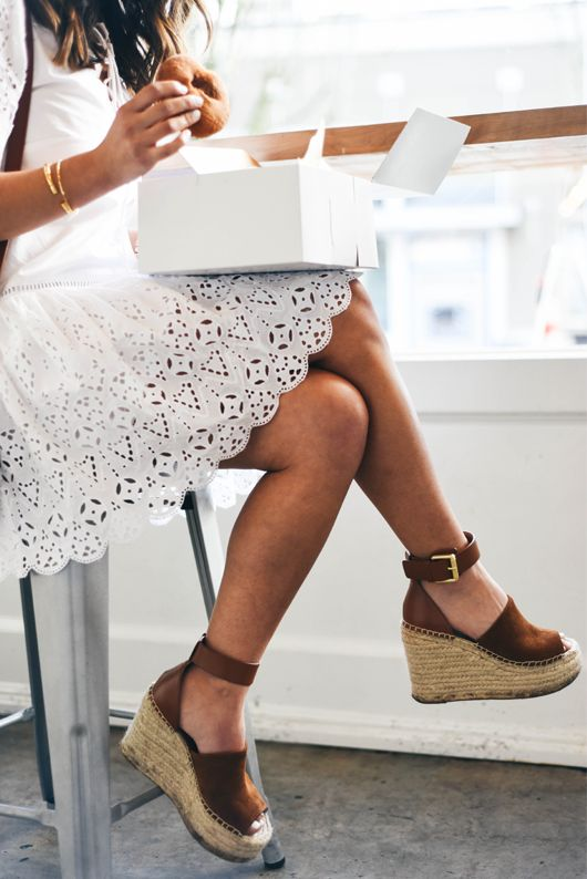 If you're still on the hunt for the perfect summer sandal, look no further than Marc Fisher espadrilles.